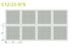 PLADUR FON+ C12/25 BA Nº8 (30 un)