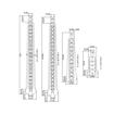 PLADUR CABIDES P 21/T45 190mm (100un)