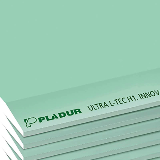 PLADUR PLACA ULTRA L-TEC H1 13x1200x2000 (60 un)