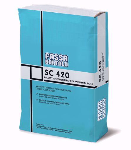 FASSA SC 420 Betonilha de base cimentícia (25kg)