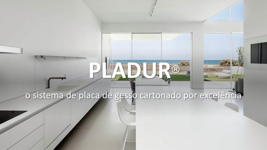 PLADUR, O SISTEMA DE PLACA DE GESSO CARTONADO POR EXCELÊNCIA