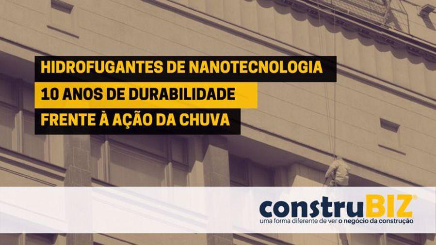 HIDROFUGANTES COM UMA DURABILIDADE DE 10 ANOS