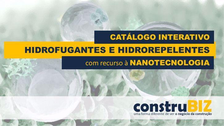 CATÁLOGO INTERATIVO DE HIDROFUGANTES COM RECURSO À NANOTECNOLOGIA