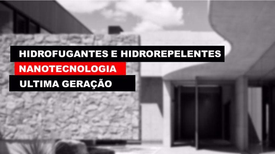 HIDROFUGANTES DE ULTIMA GERAÇÃO COM RECURSO À NANOTECNOLOGIA