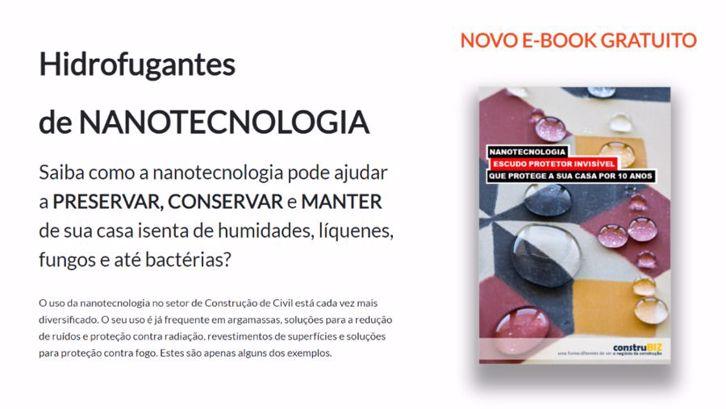 E-BOOK GRATUITO HIDROFUGANTES DE NANOTECNOLOGIA