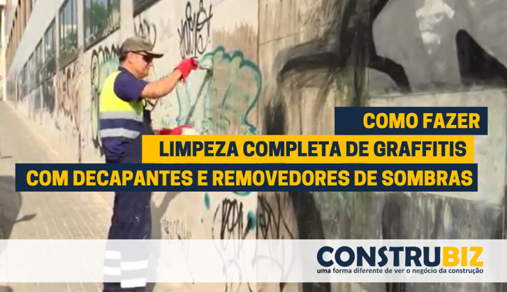 COMO REMOVER GRAFFITIS, SOMBRAS E AURÉOLAS